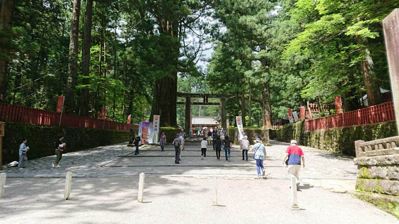 Torii of Nikko Toshogu