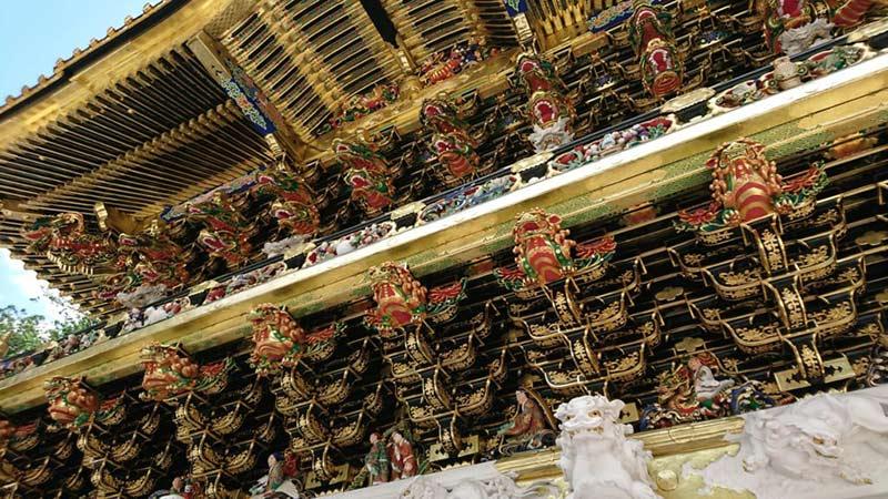 Nikko-Toshogu sculptures