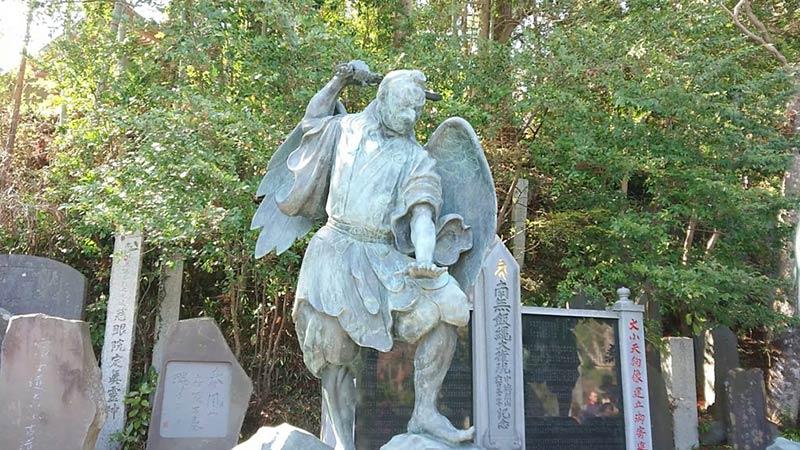 Tengu's Sculpture at Mt.Takao