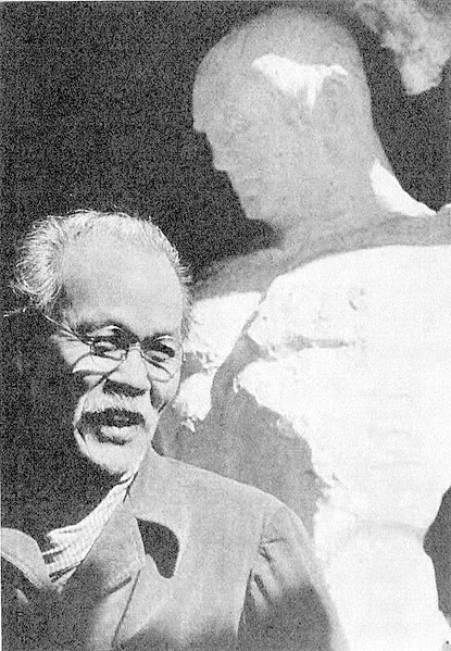 Sculptor Seibou Kitamura