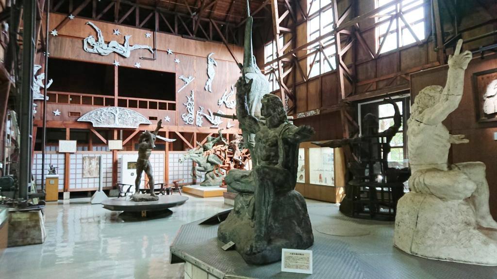 Seibou Kitamura's atelier
