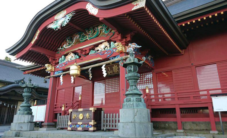 Shrine of Musashi Mitake