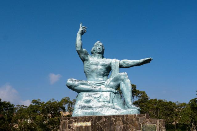 Peace-Statue in Nagasaki