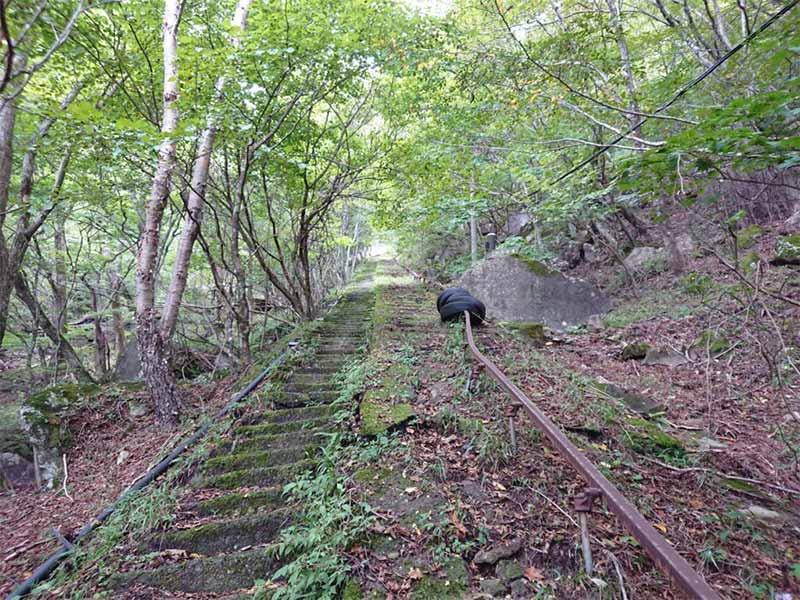 old cable cars at Mt.Akagi