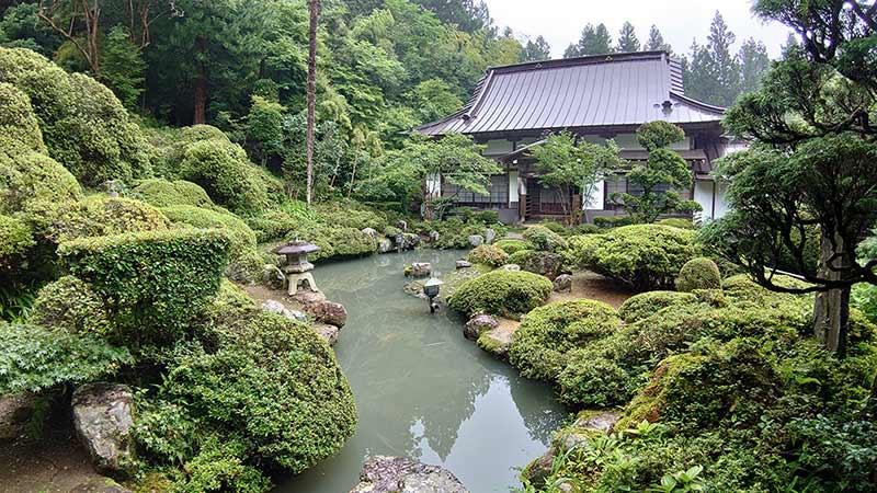 the pond in Hounji