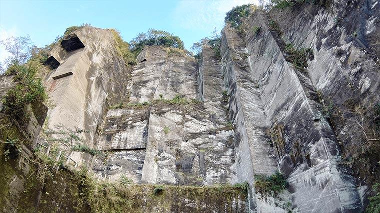 Iwa Butai in Mt.Nokogiri